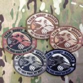 Mil-Spec Monkey Velcro Morale Patch Honey Badger